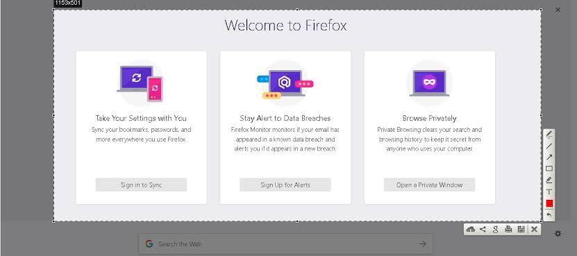 افضل ملحقات لقطة شاشة لمتصفح فايرفوكس