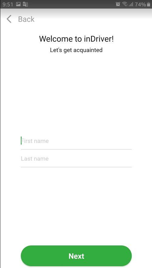 تطبيق ان درايفر inDriver مميزاته و كيفية استخدامه