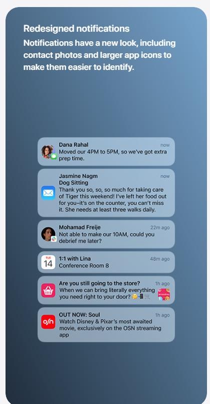 تحميل نظام iOS 15 و مميزاته و كيفية تثبيته 3