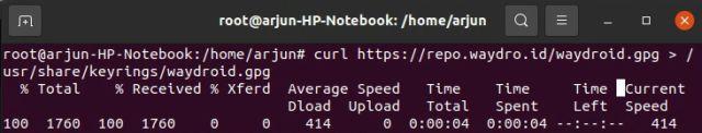 كيف يمكنك تشغيل تطبيقات الأندرويد على لينكس بدون محاكى 5