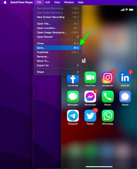 كيف يمكنك تسجيل مكالمة فيس تايم على الأيفون والماك 8