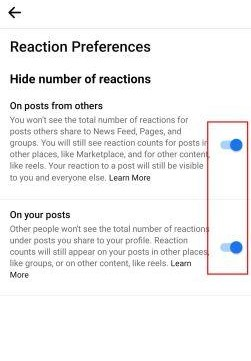كيف يمكنك اخفاء اعجابات الفيس بوك 9