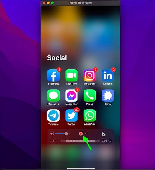 كيف يمكنك تسجيل مكالمة فيس تايم على الأيفون والماك 7